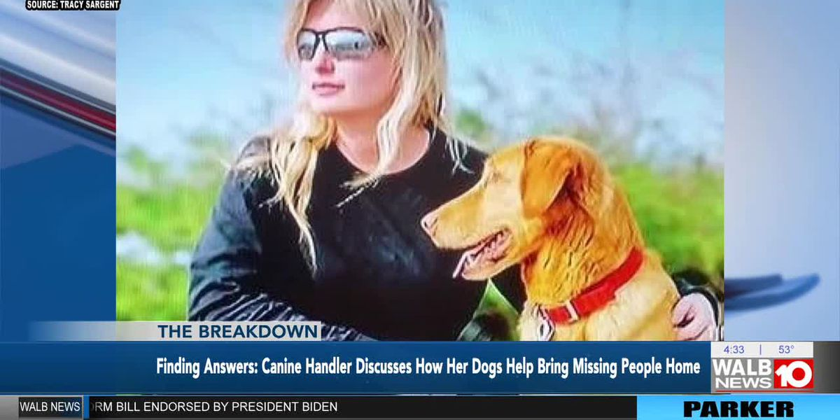 The Breakdown: Finding Answers: Canine Handler discusses how her dogs help bring missing people home