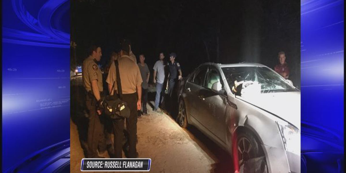 Car discovered in Coffee Co. creek