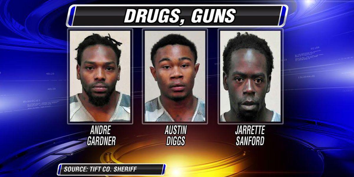 Three arrested in Tift drug bust