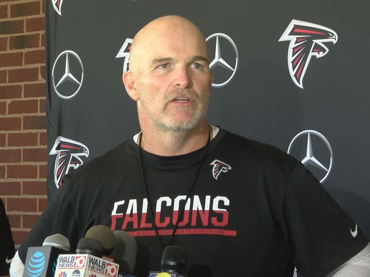 Falcons finish last practice before taking on Jets