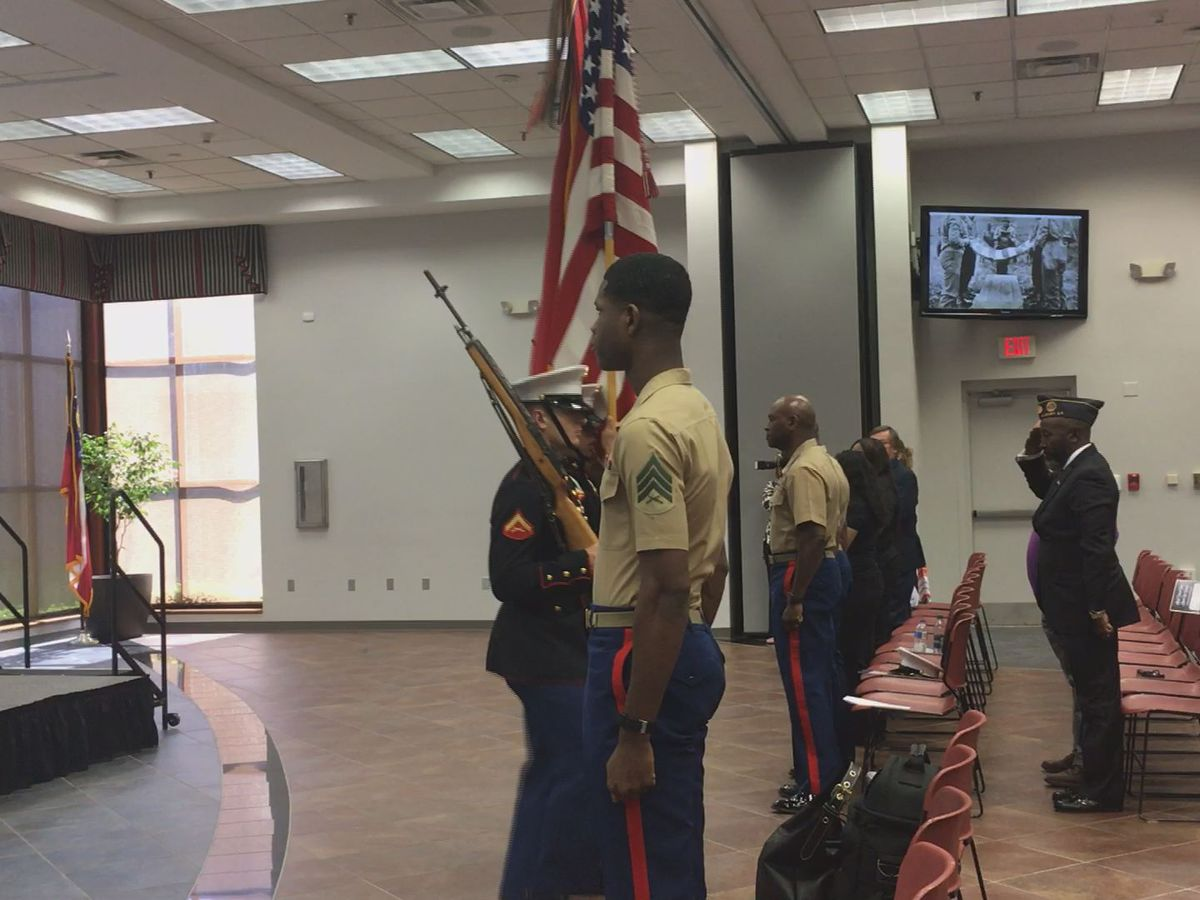 Albany Technical College hosts Memorial Day ceremony