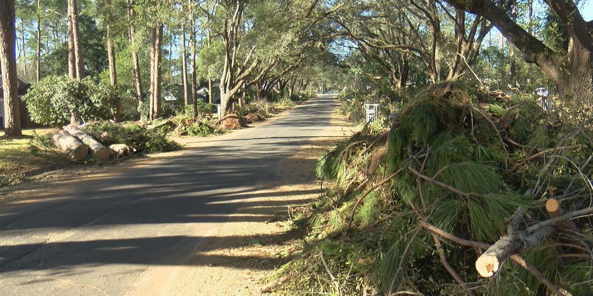 Storm-damaged homes targeted by burglars
