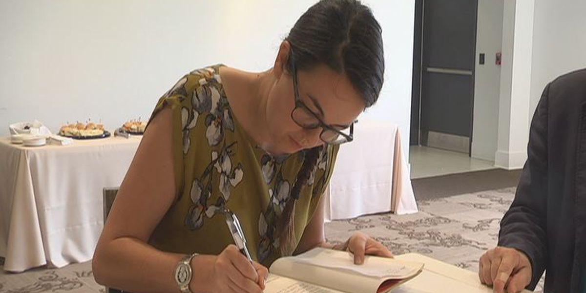 Kathleen Jordan brings father's last book to life