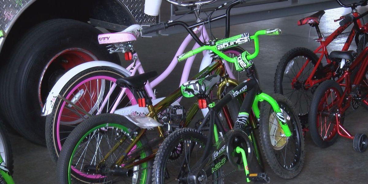 Valdosta Fire Department prepares for bike give away
