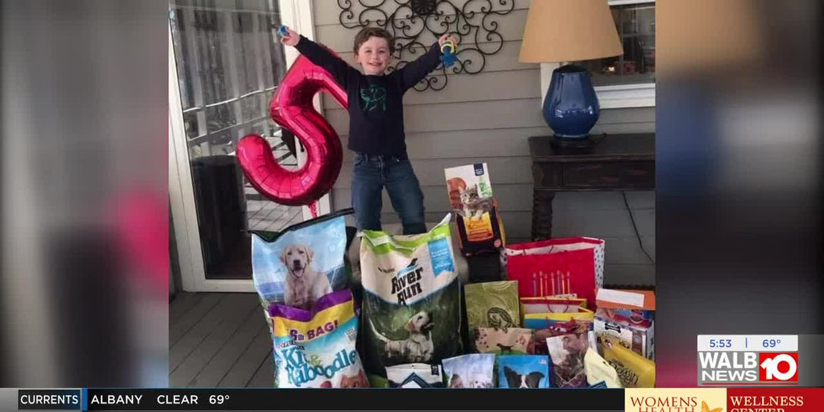 Crisp Co. 5-year-old's birthday goes to the dogs