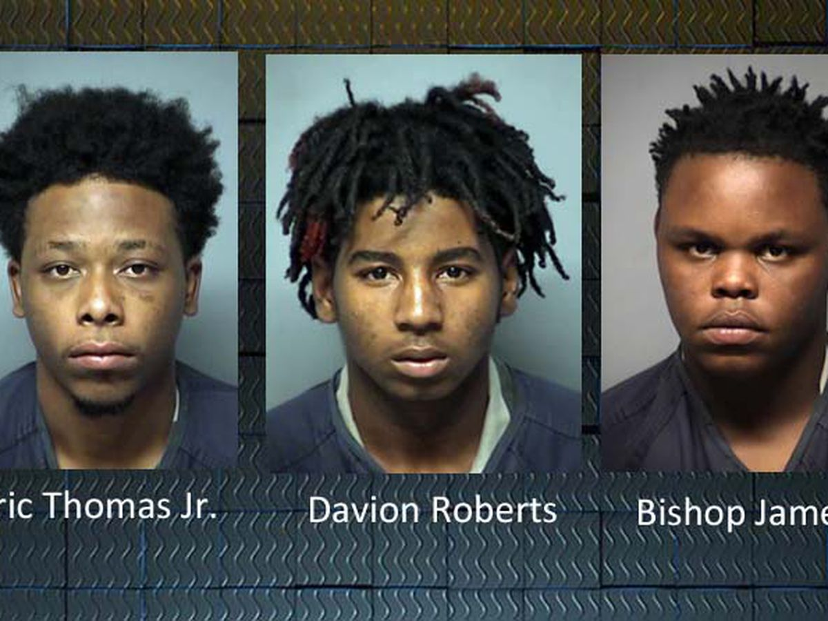 3 men arrested by Remerton, Valdosta Police