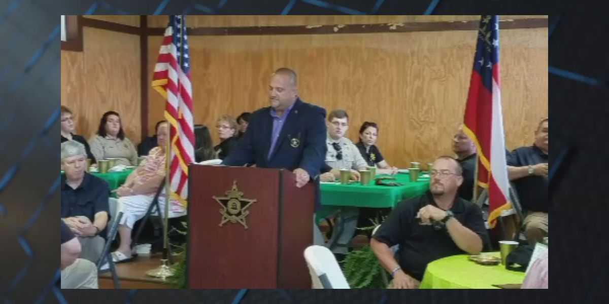 South GA sheriff thanks business leaders for $33K in donations