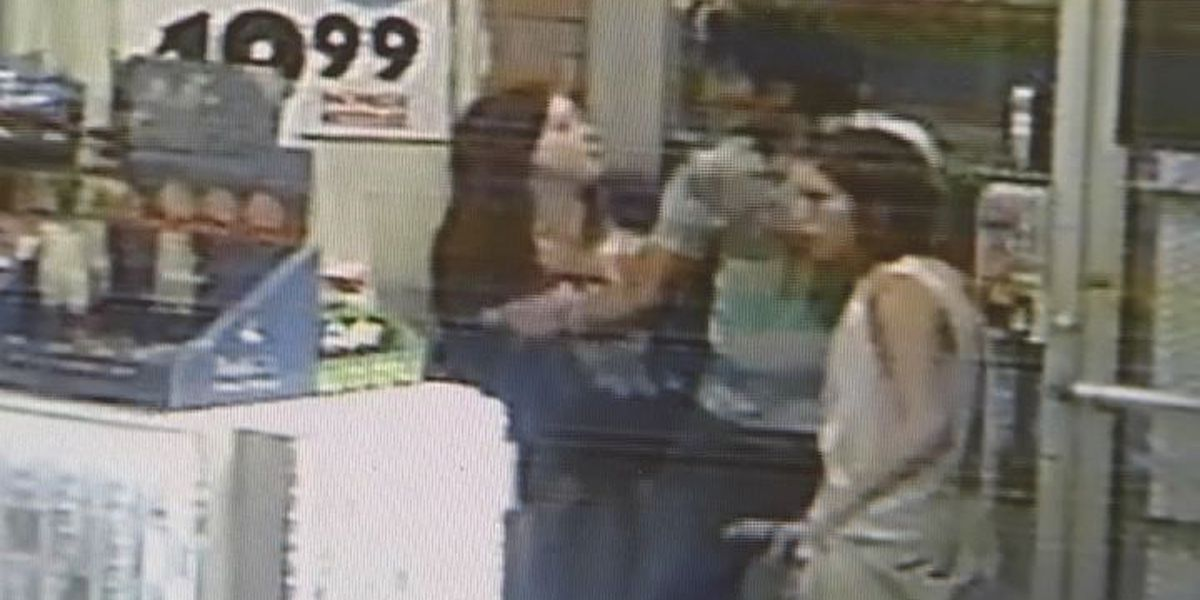 Video helps narrow hunt for girls who beat package store clerk
