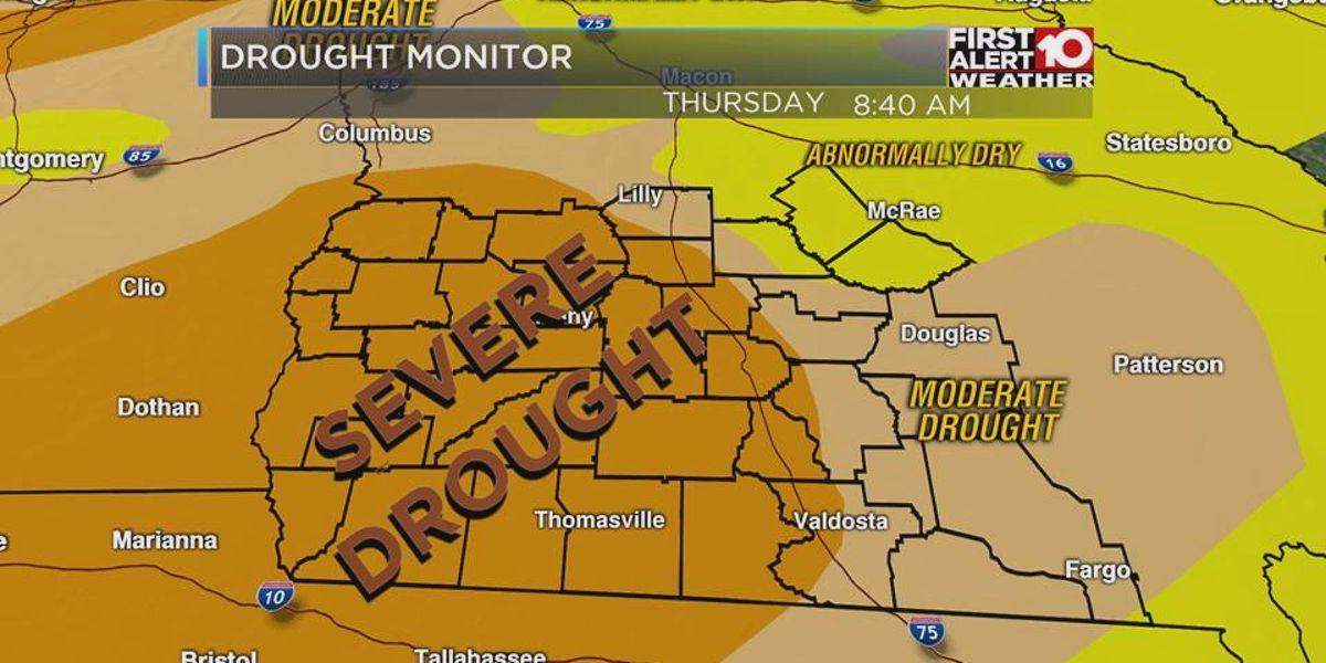 GA drought conditions continue to worsen