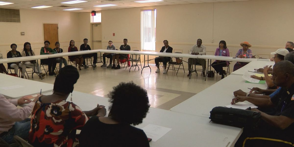 Stop the violence group discusses gun laws