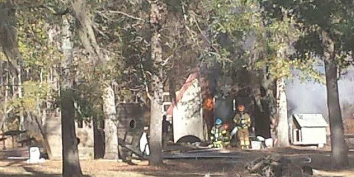 Propane tank explodes at Lee Co. home