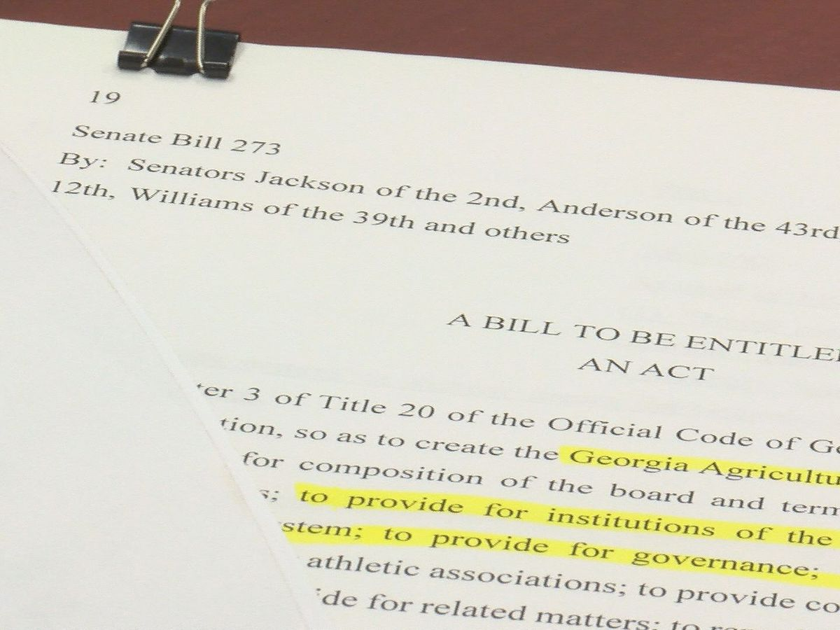 New GA HBCU bill announced causing commotion after another bill denounced