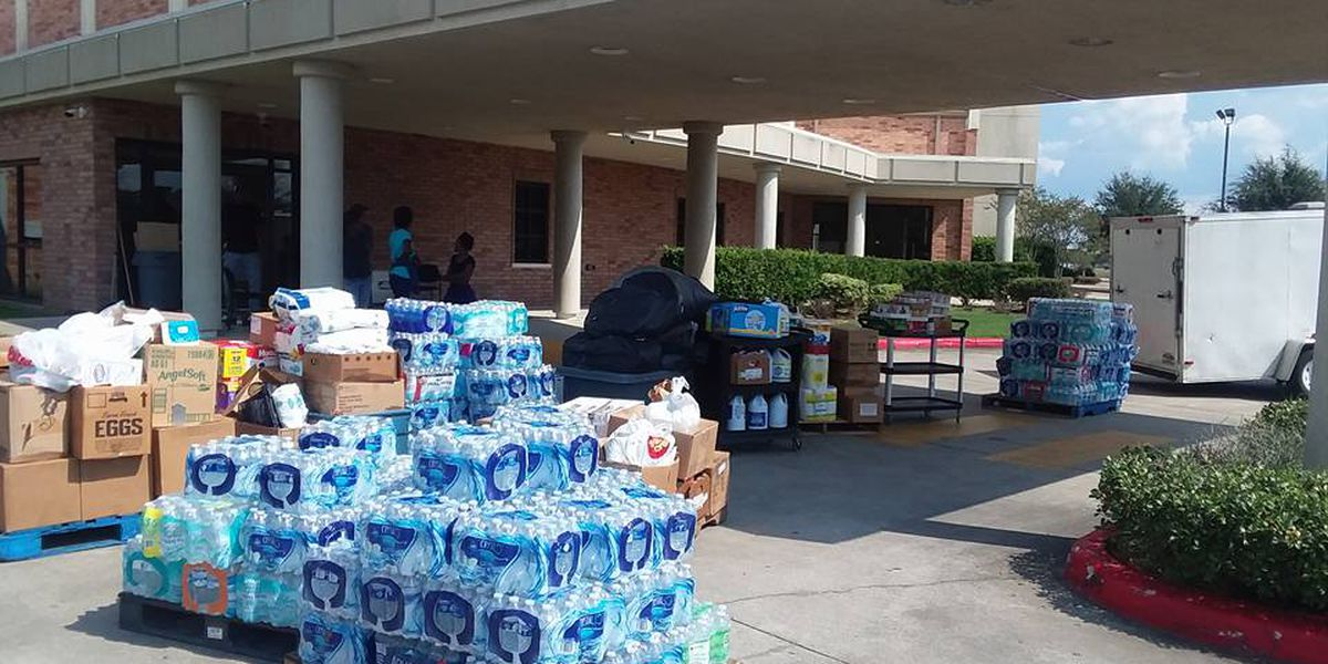 Cordele ministry takes donations to TX for Harvey victims