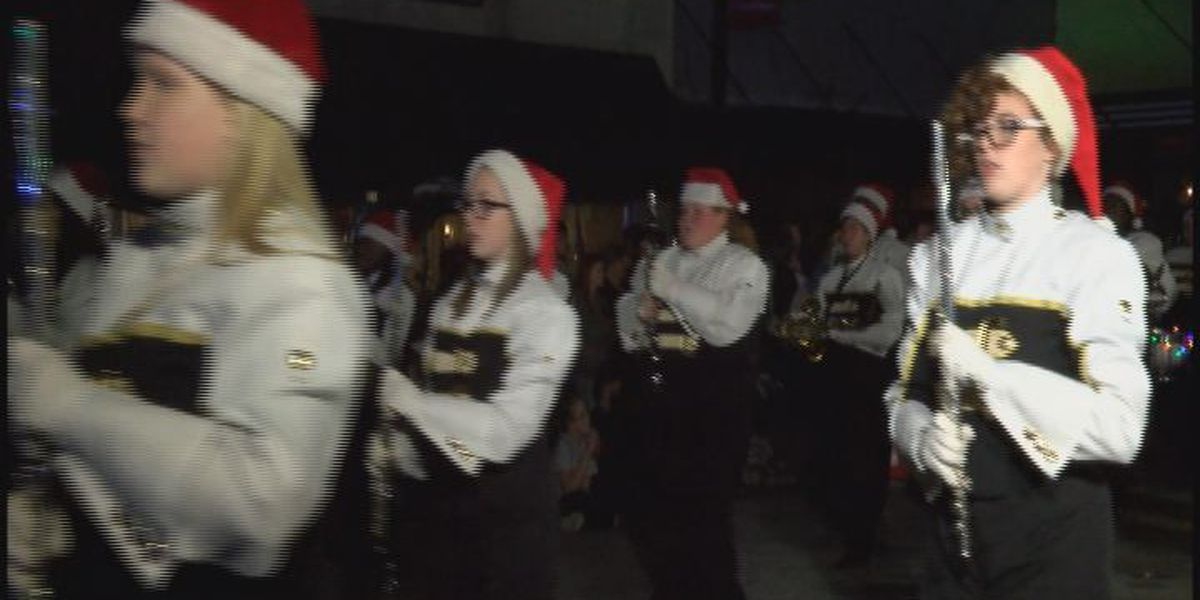 Moultrie Christmas parade lights up downtown