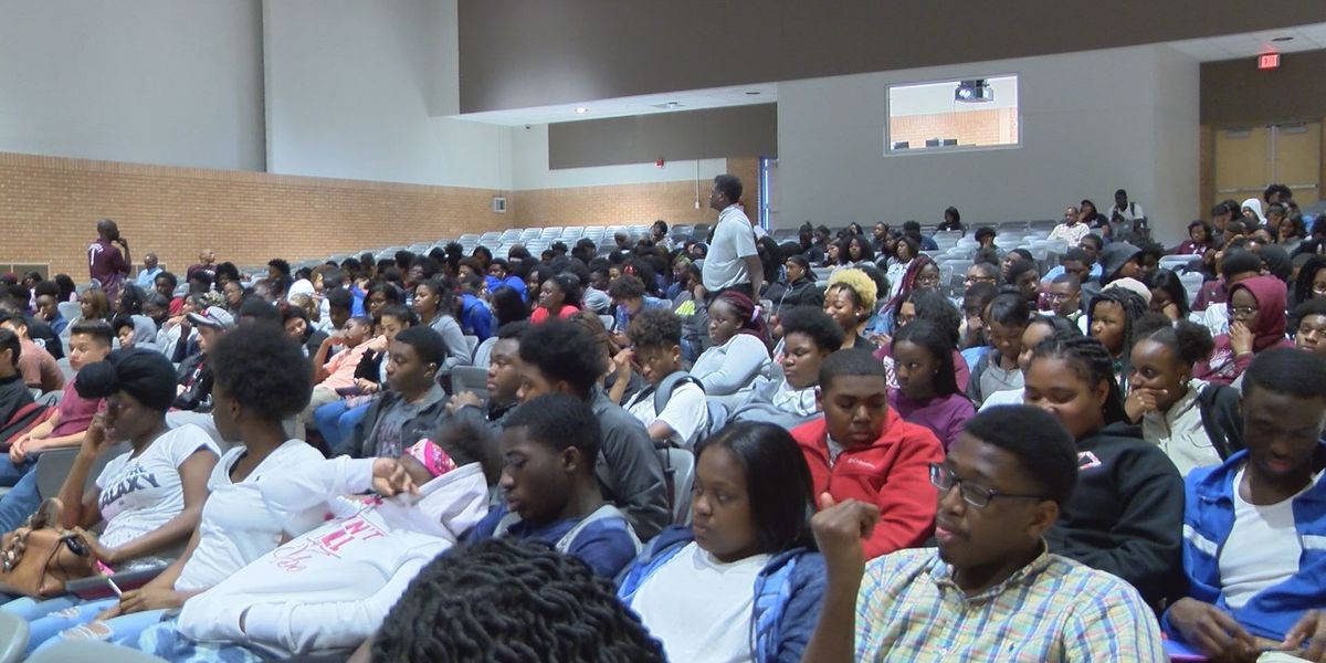 Dougherty High students learn the dangers of opioid abuse
