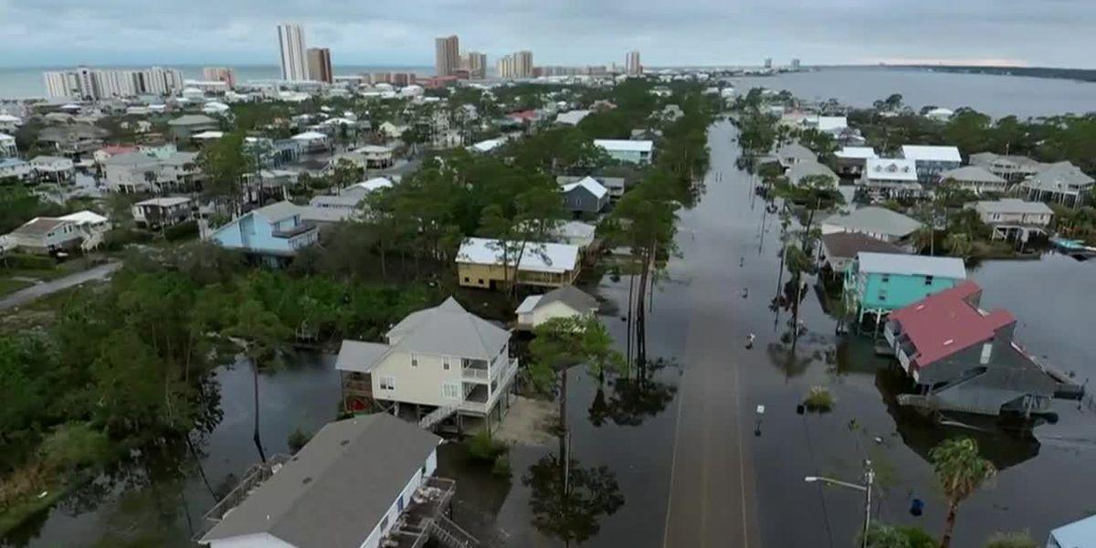 Gulf Coast braces for 2nd round of flooding in Sally's wake