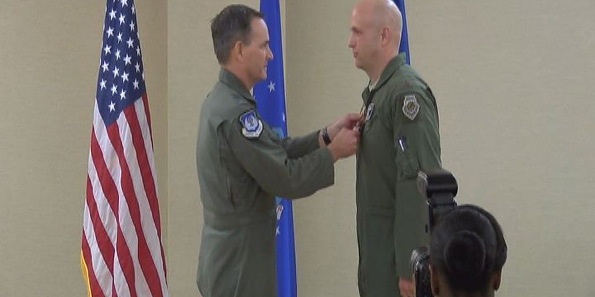 Moody Airman receives Distinguished Flying Cross