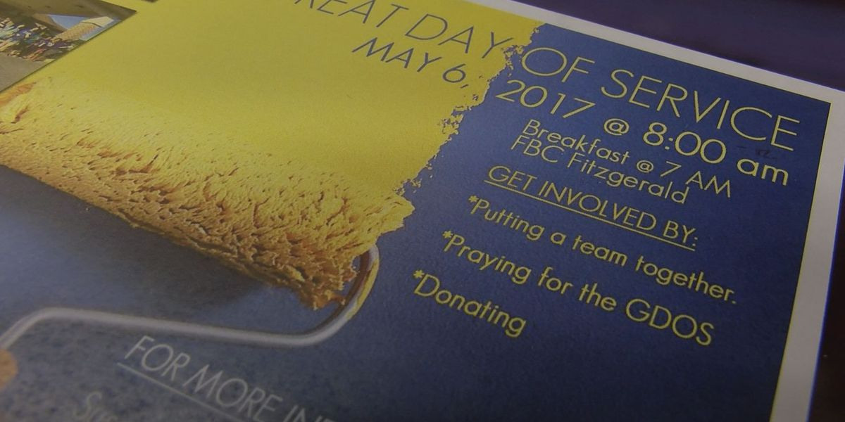 Hundreds volunteer for Great Day of Service