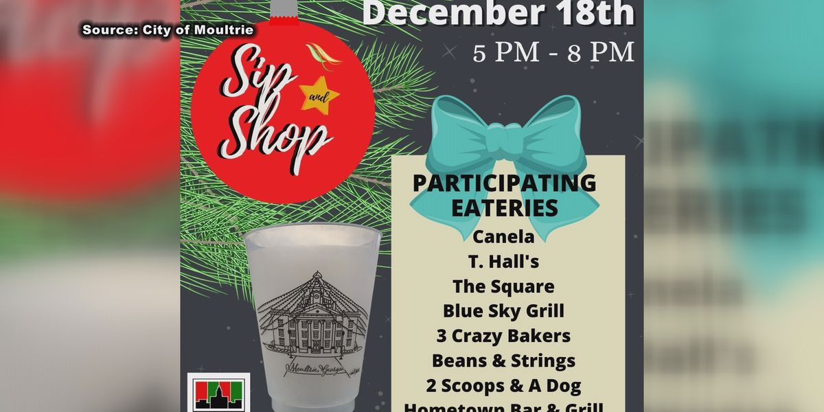 Moultrie to bring community out for last Christmas shopping event of the season