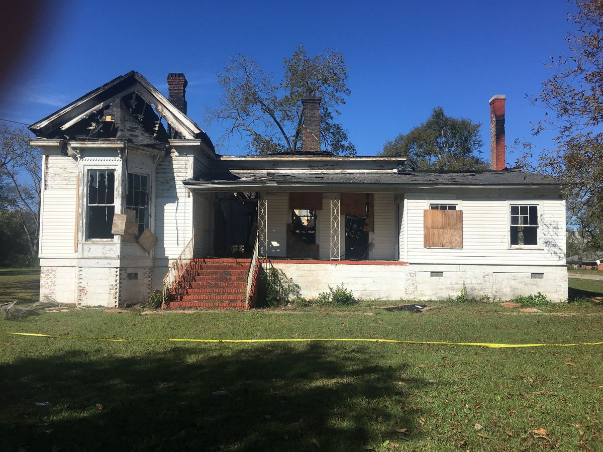 House fire ruled arson in Turner Co.