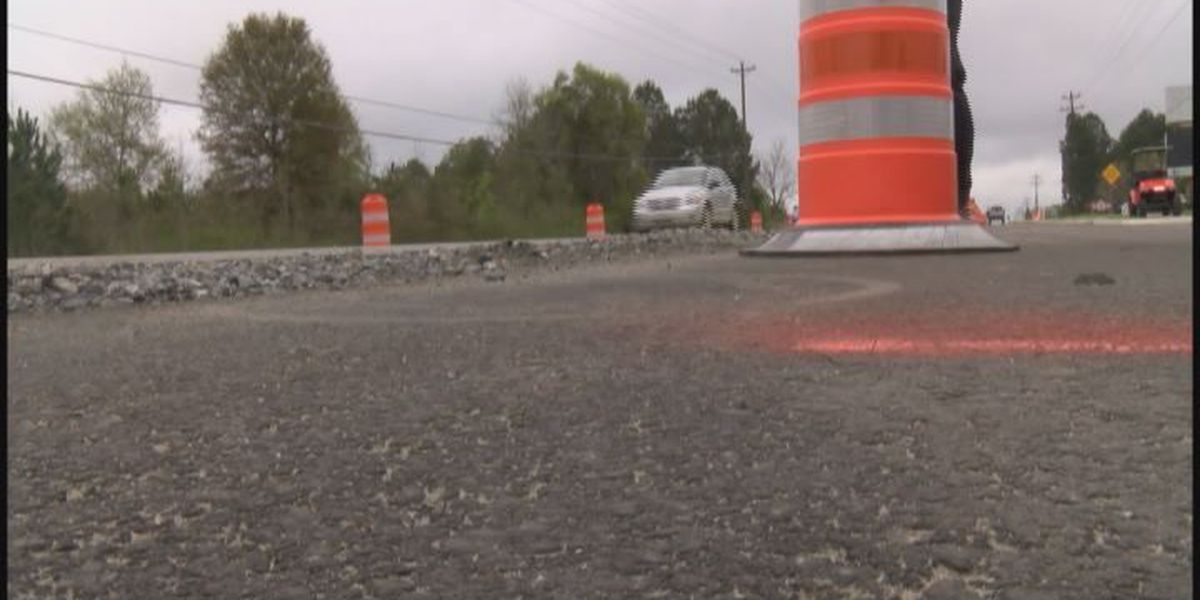 Georgia road projects on hold