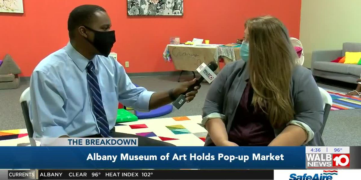 The Breakdown: Albany Museum of Art holds Pop-up Market