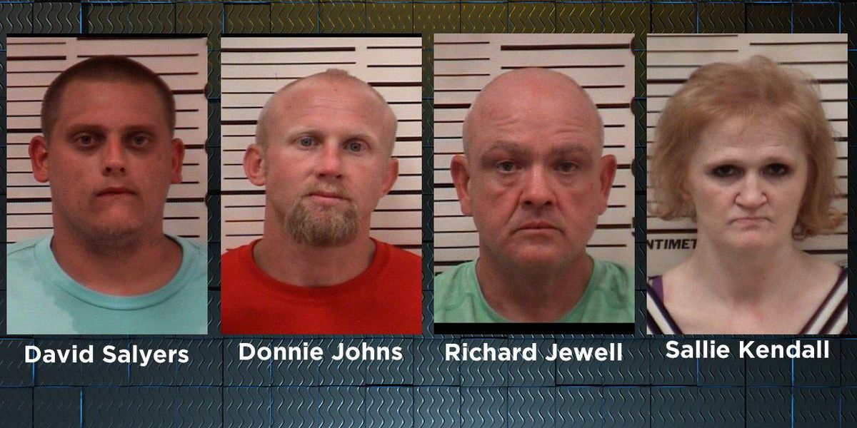 4 arrested in Douglas-Coffee Co. Drug unit operation