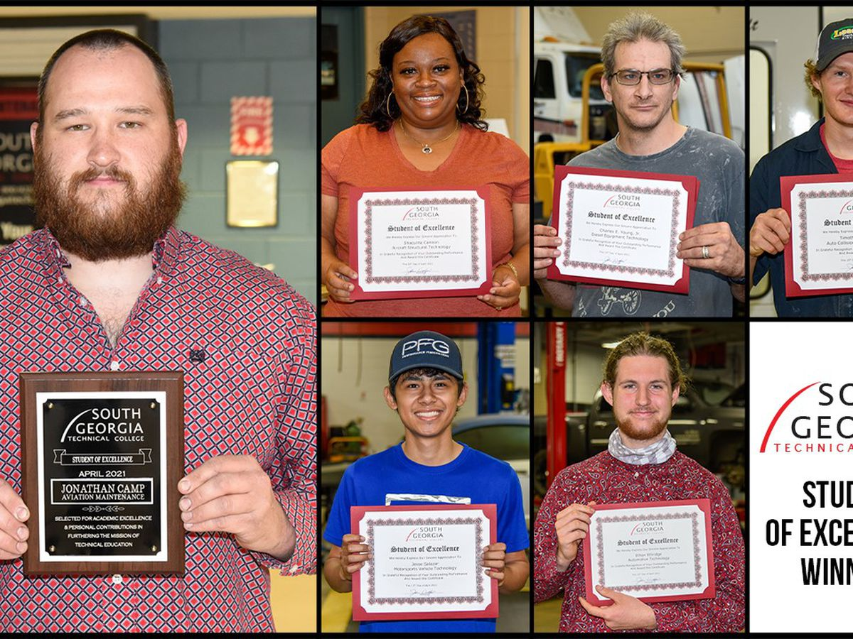 SGTC recongizes April Student of Excellence