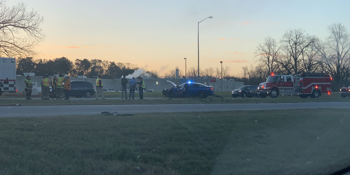 GSP trooper involved in early morning Camilla crash
