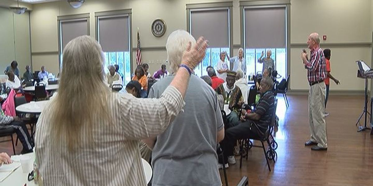 Music and bingo at the Albany Senior Center
