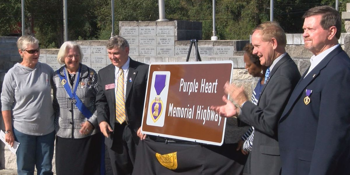 Hwy 520 named Purple Heart highway