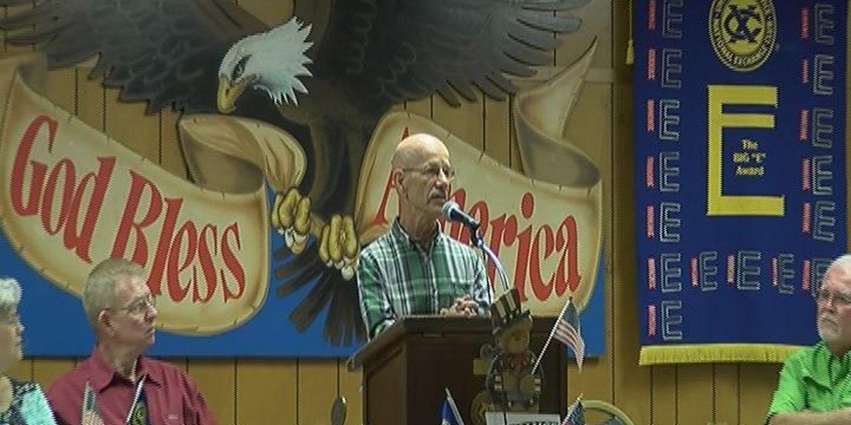 Exchange club members hear from former navy seal