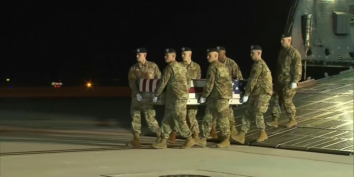 Remains of N.C. soldier arrive in the United States