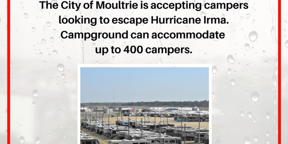 RV park opens in Moultrie for Irma evacuees