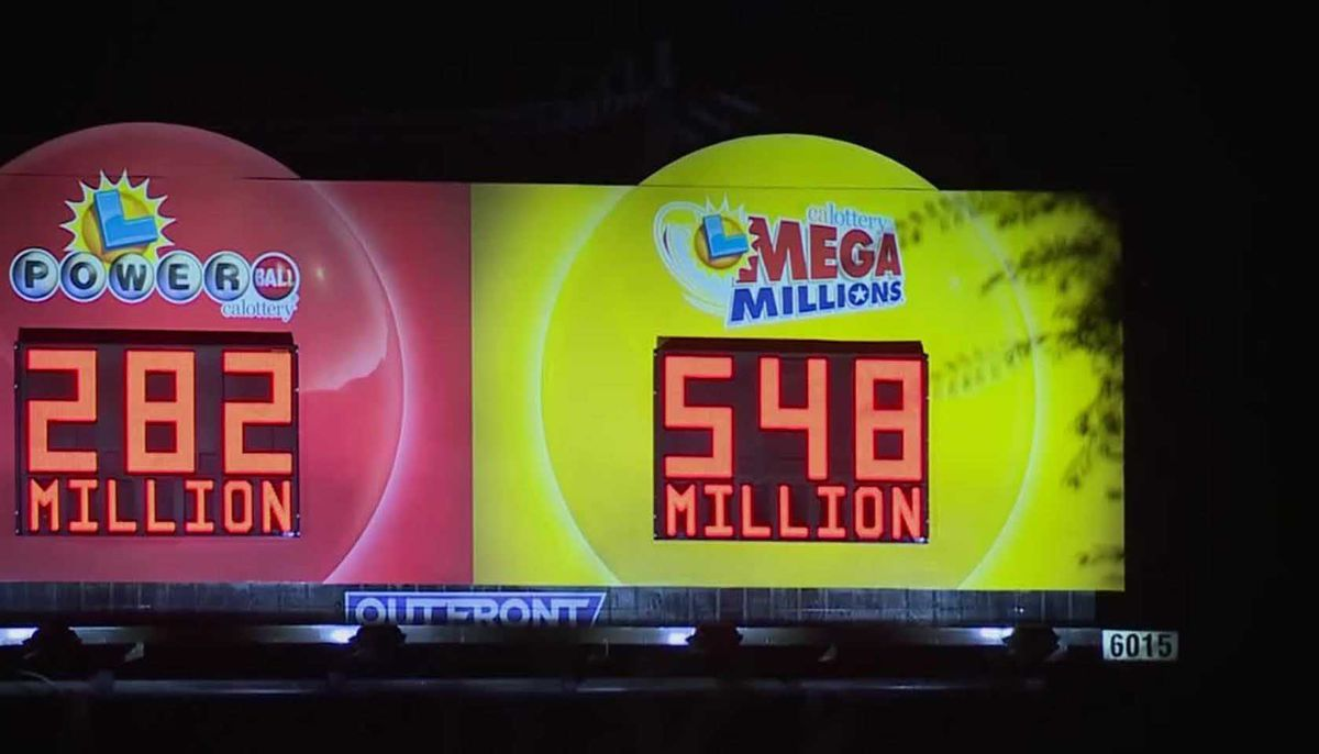 $548 million jackpot for Friday night Mega Millions drawing