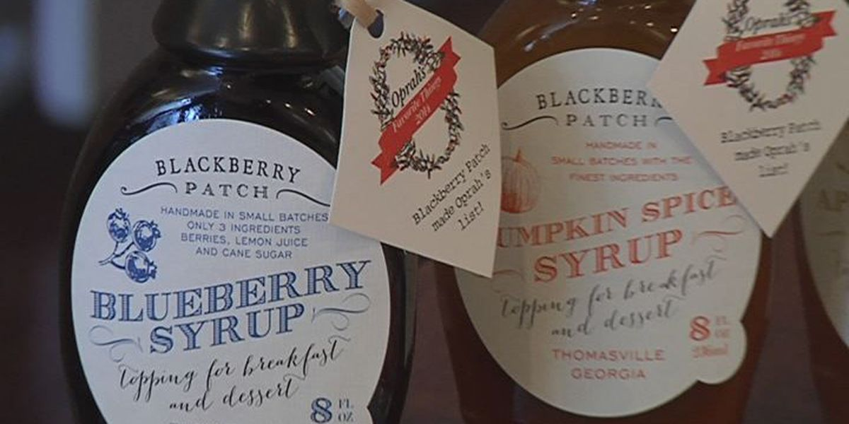 Thomasville syrups to be featured in Oprah's favorite things