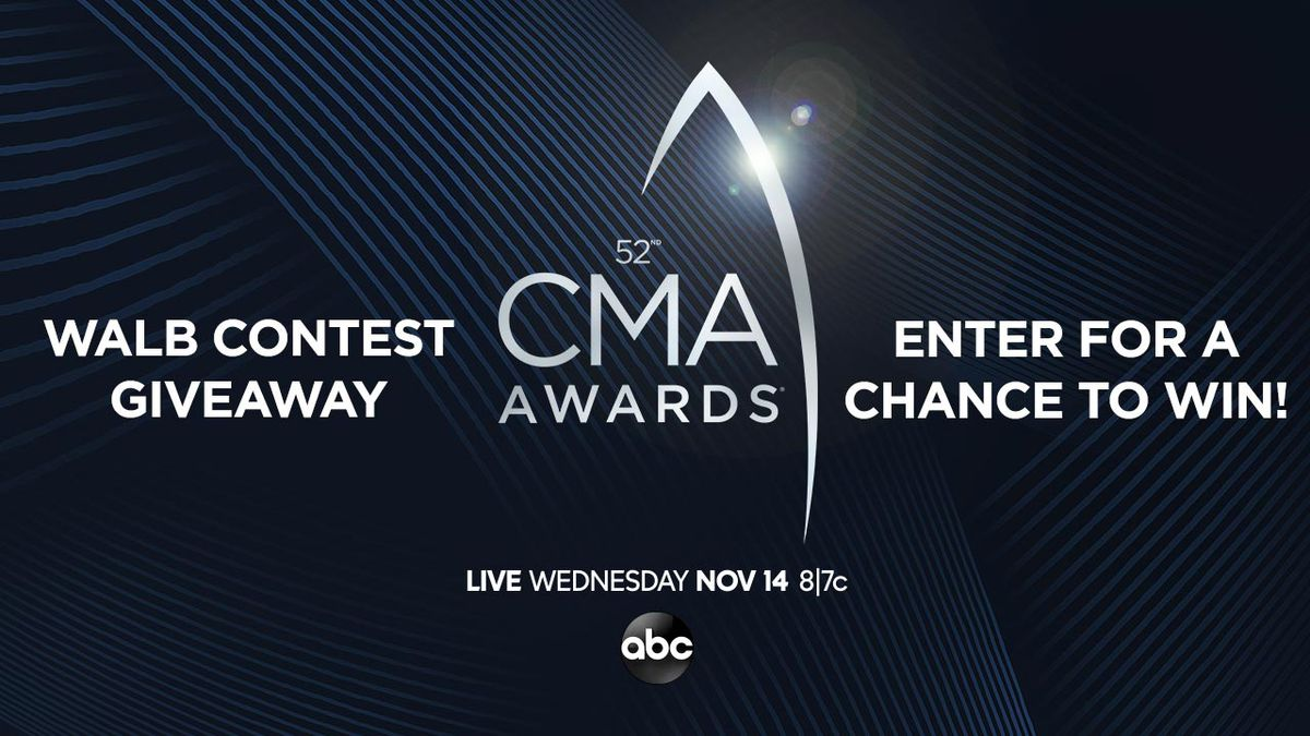 Enter for a chance to win tickets to the 2018 CMA Awards!
