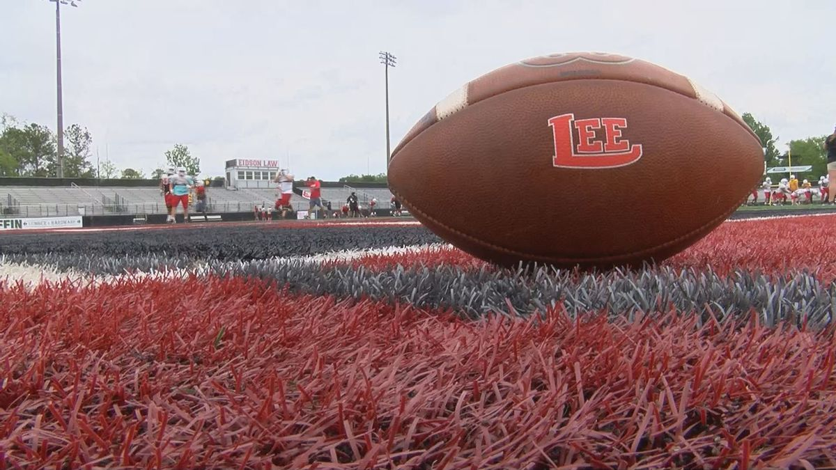 Lee County football takes to Trojan Field for spring practice