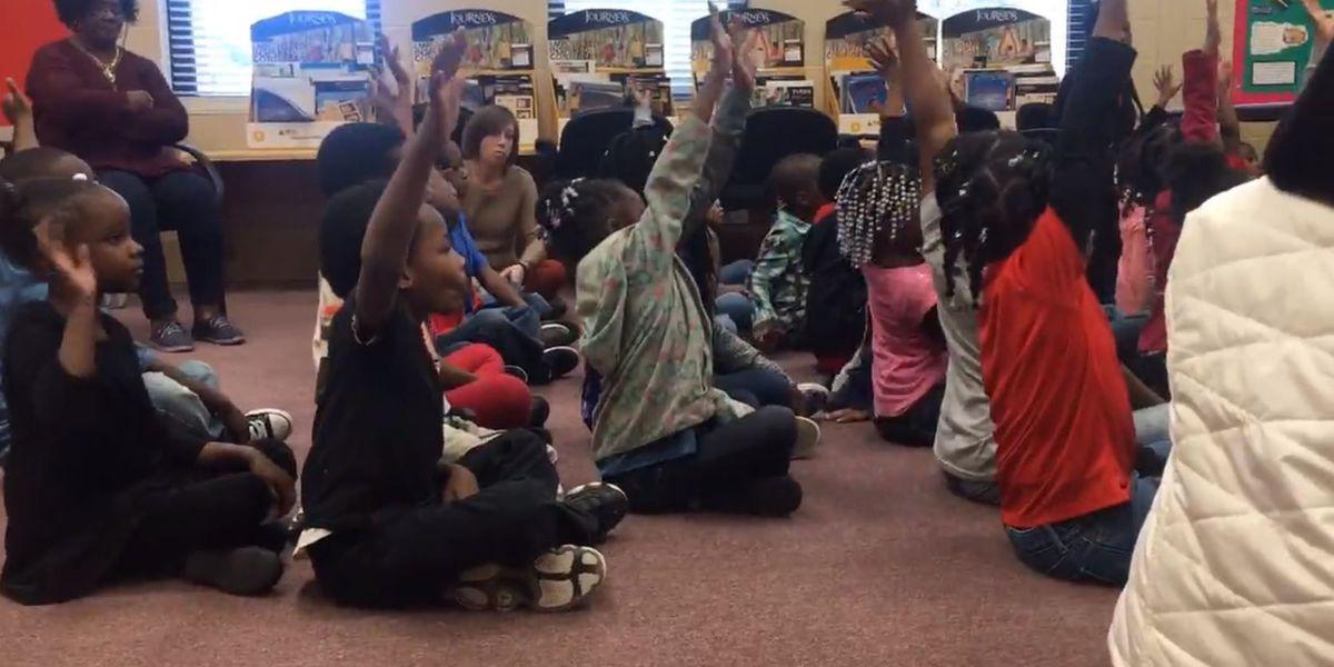 Thomasville kindergarten students learn about dental health