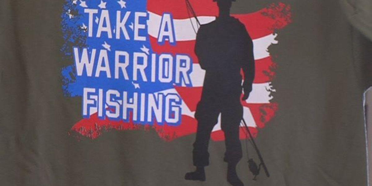Bainbridge volunteers go fishing with wounded veterans