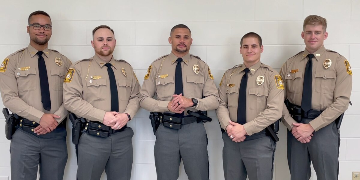 Valdosta Police Department welcome 5 new officers