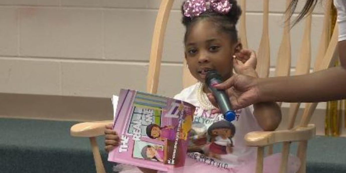 Blakely 1st grader publishes her own book at age six