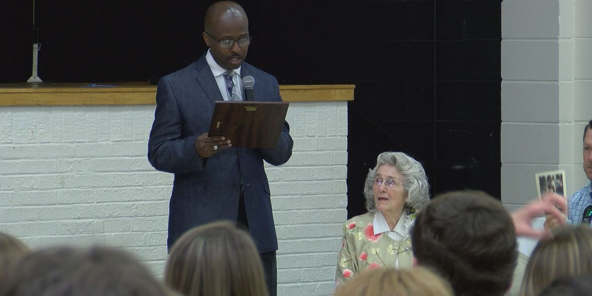 Mitchell Co. woman, 90, recognized by U.S. Congress