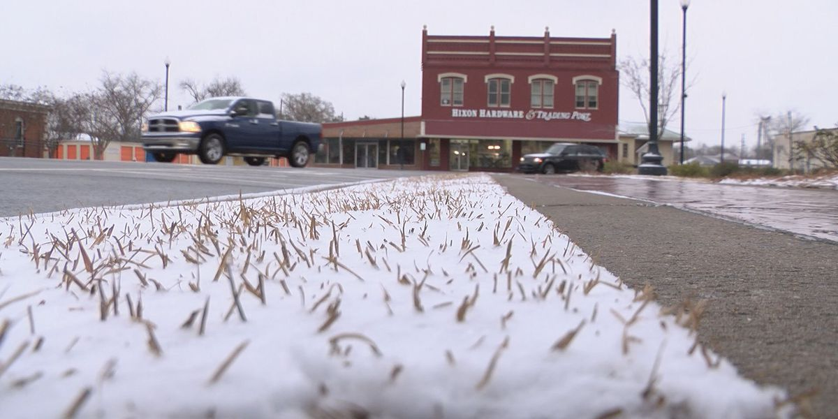 Randolph County sees first snow in many years