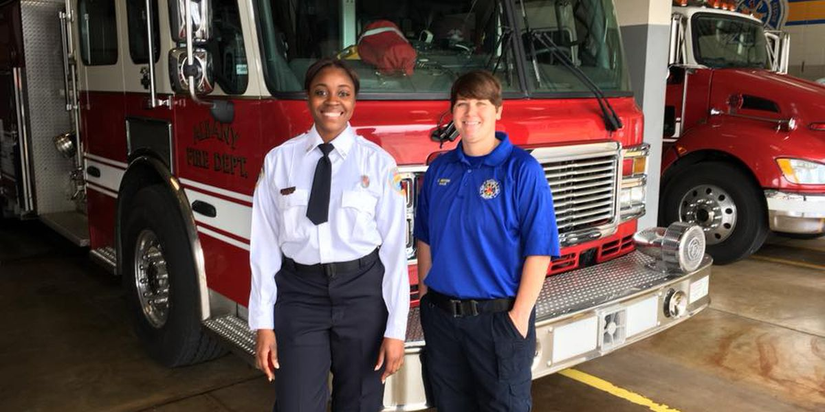 Female firefighters make history at Albany Fire Department