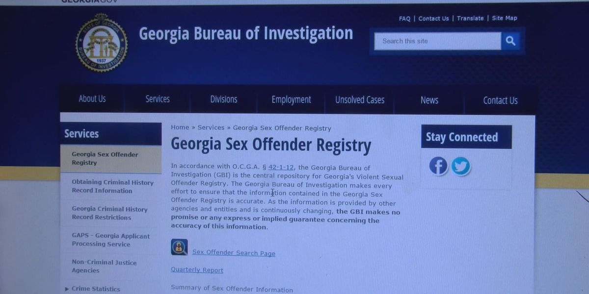 How to search for sex offenders in your area