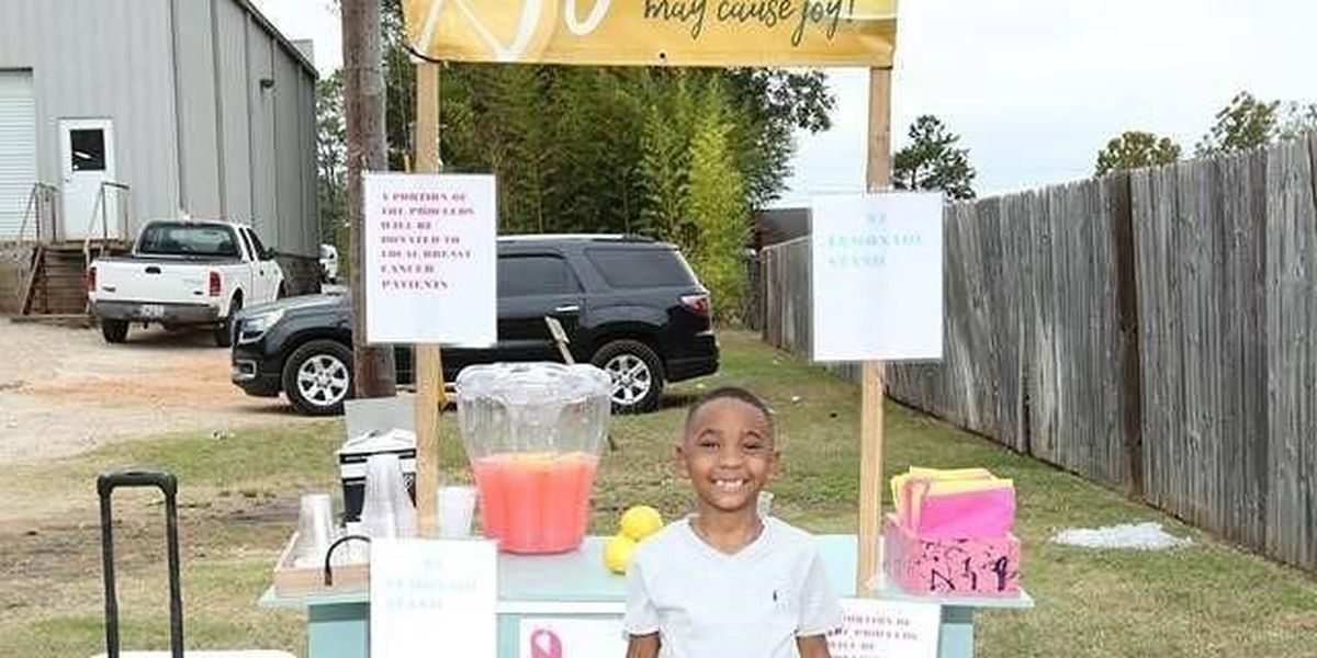 Americus kid with a cause wants to swap food for lemonade