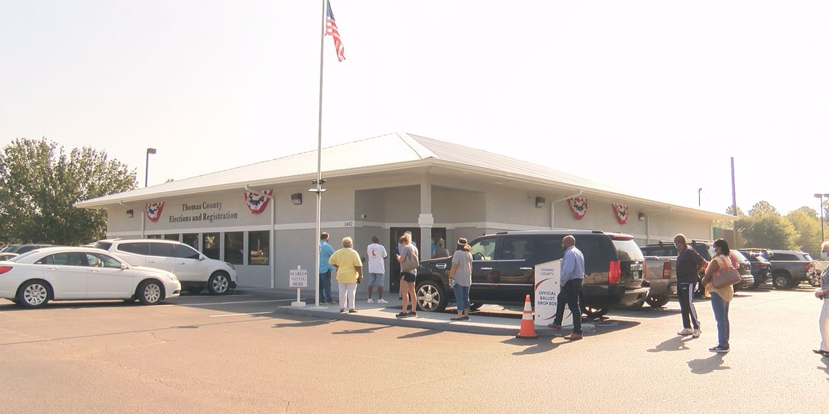 Thomas Co. elections office running smoothly amid large in-person turnout