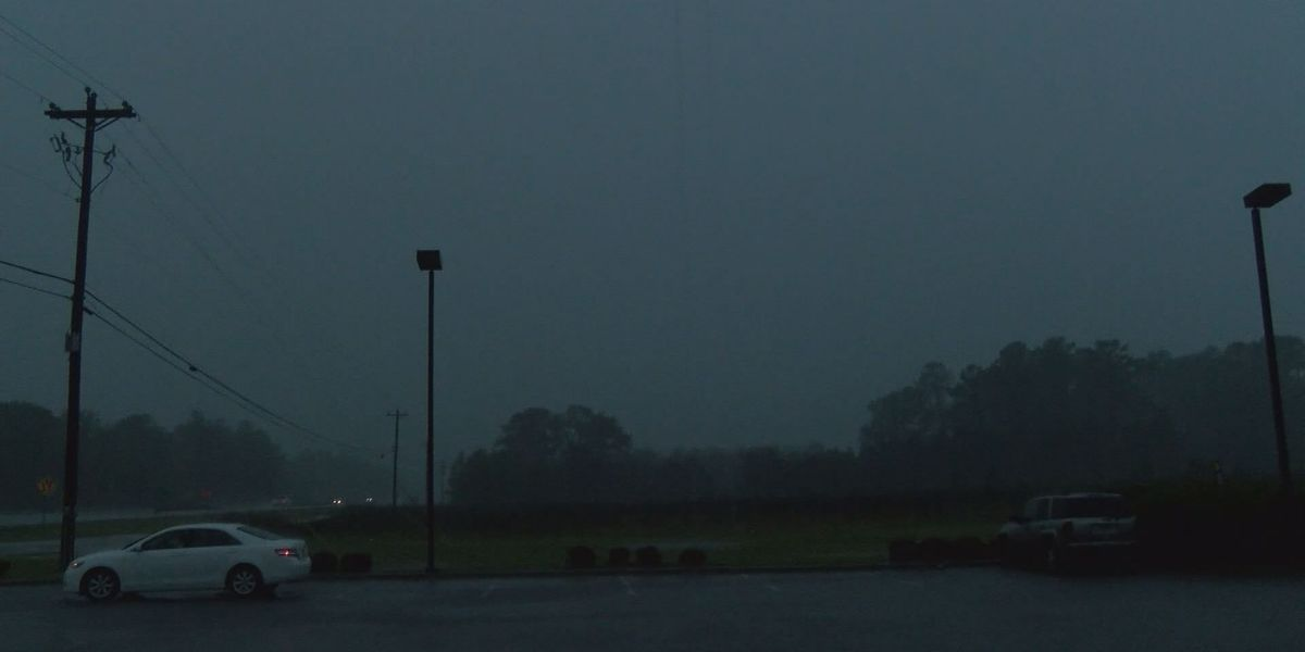 Video catches storm rolling into Leesburg
