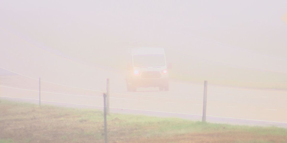 Crisp Co. Sheriff's Office warn drivers about dense and heavy fog